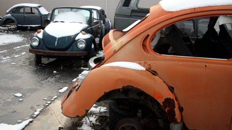 The Time I Chopped Up A Dozen Volkswagen Bugs With A Sawzall