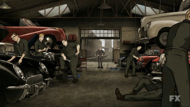 The Cars Of Archer: Why A Cartoon Spy Has The Best Cars On Television