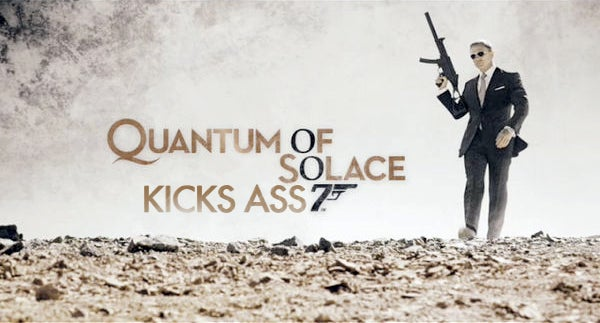 Quantum of Solace Is the Perfect Bond Movie