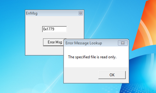 ErrMsg Tells You What That Windows Error Code Really Means