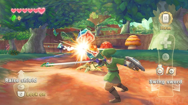 First Zelda: Skyward Sword Screenshots