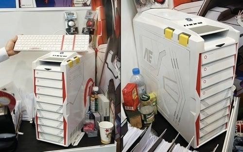 The Gundam Unicorn PC Case