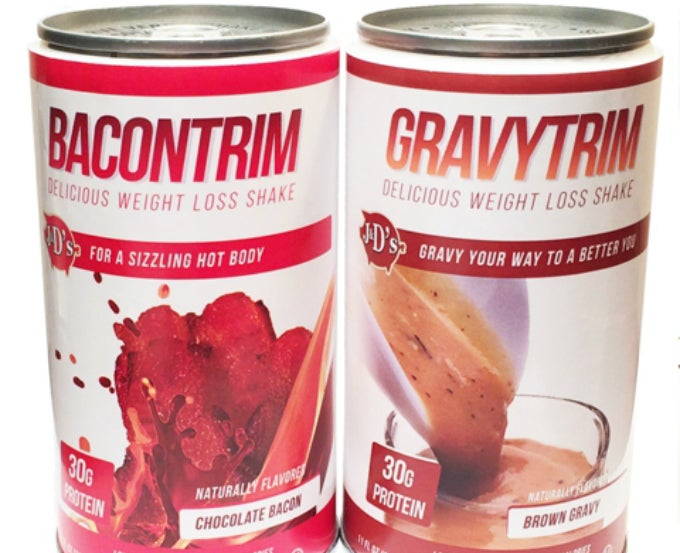 A Company is Selling Weight Loss Shakes in Bacon and Gravy Flavors
