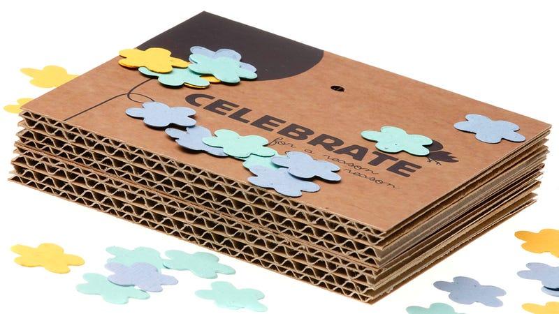 Throw & Grow Confetti Turns Celebrations Into Lush Flower Gardens