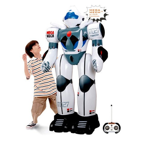 Inflatable Killer Robot (Verdict: We're Getting Closer)