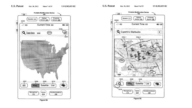 Apple Wins Google-Worrying Patent for Touch Screen Mobile Maps Interface