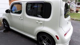 The 2010 Nissan Cube with optional Aero Kit