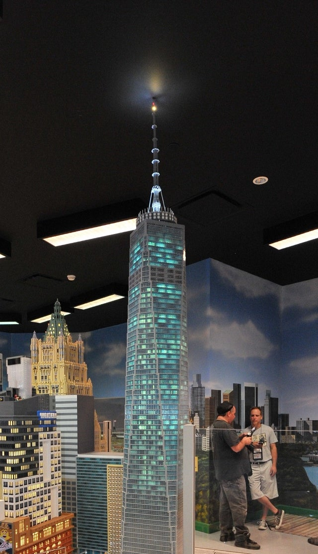 12-Foot-Tall Lego One World Trade Center Lives Up to Its Inspiration