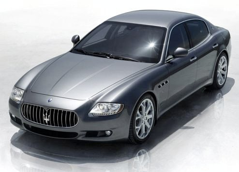 Maserati Quattroporte S, Standing Still In Moving Picture