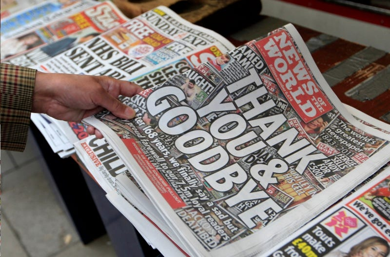 Former News of the World Readers Too Illiterate to Read Anything Else