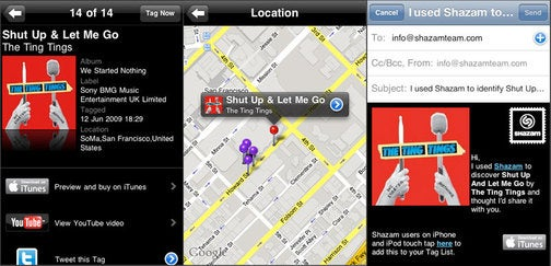 Shazam Now Tweets, Maps Your Music Journeys