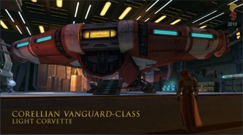 Space Combat Is Part Of Star Wars: The Old Republic