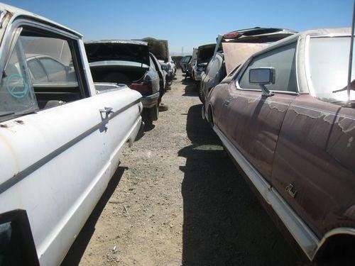 Pair Of Rancheros Down On The Junkyard