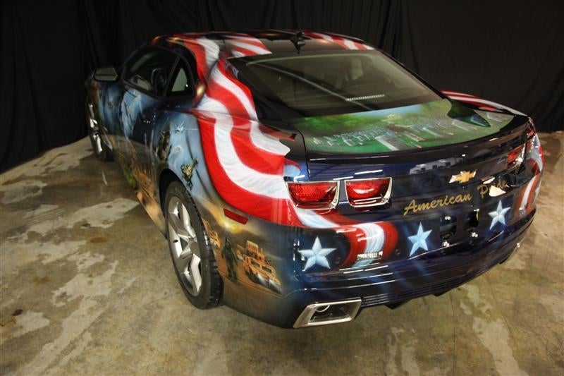 GM's American Pride Camaro proves there's no such thing as too patriotic
