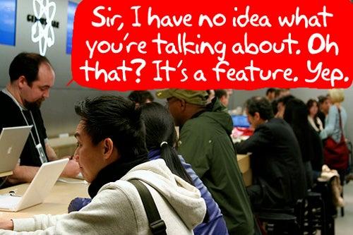 "Apple ""Experts"" Will Make Geniuses Feel Like Dunces"