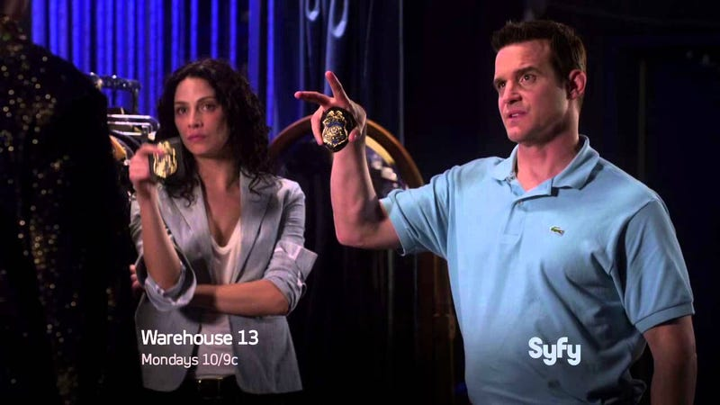 We'll seriously miss Warehouse 13