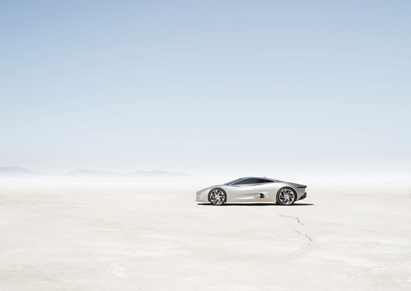 Jaguar C-X75 Concept: First Exterior Photos