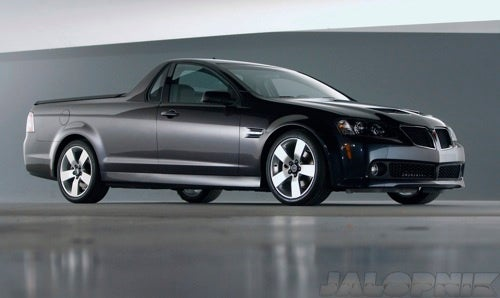 REPORT: The Pontiac G8 El Camino, GXP Live... As Holdens!