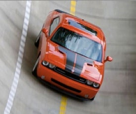 Dodge Challenger SRT8: Pork Goes Vertical