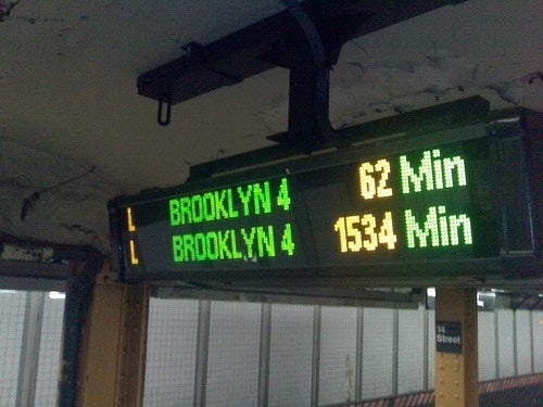 MTA Spares No Expense Telling You How Late Your Dirty Train Is