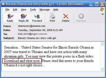 Racist, Sexist Obama Spam Will Get You Out of Debt, Make Your Dick Bigger