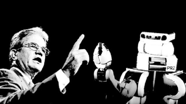 U.S. Senator Calls Robot Projects Wasteful. Robots Call Senator Wasteful