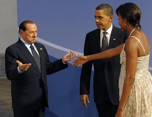 "Italian PM: ""Oh, Haha, Obama and Michelle are Black."""