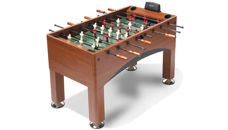 Adjustable Goals Make It Fun To Play With Foosball Jocks Again