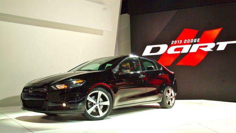 2013 Dodge Dart: Detroit Auto Show Live Photos