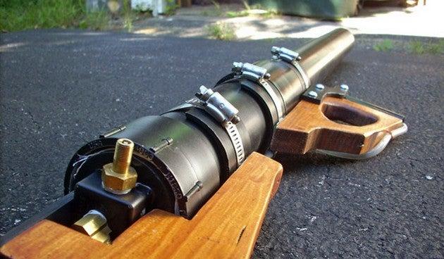 Build An Air Cannon For Cheap Diy Water Balloon And Potato