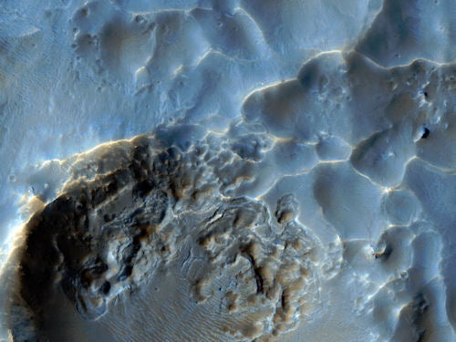 New Mars Surface Shots: A World Without Footprints
