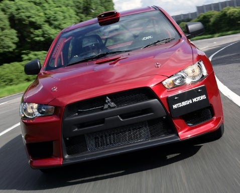 Group N Spec Mitsubishi Evo X: To Be Course Cars for WRC Japan