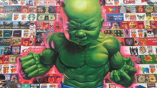 This Disturbingly Amazing Baby Hulk Mural Just Went Up in New York City