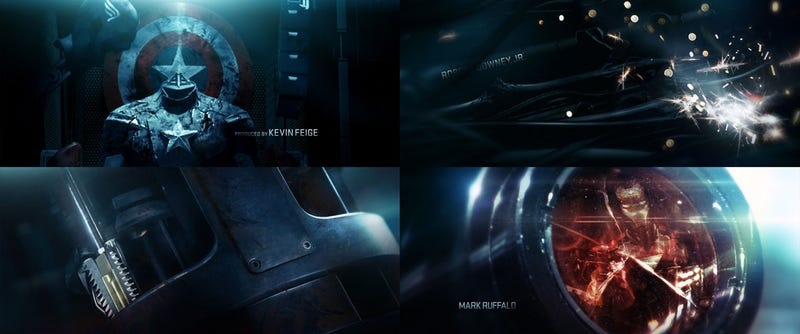 Breakdown of Avengers title sequence reveals Nick Fury's holster and Black Widow's stinger