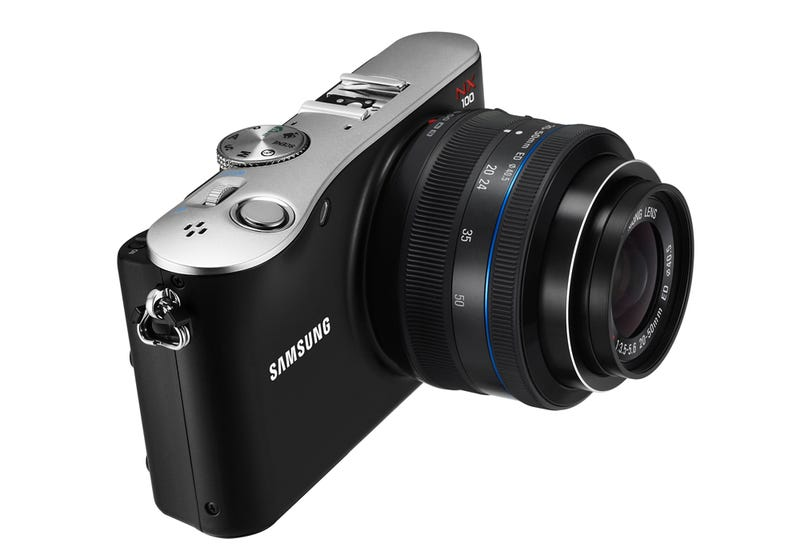 Samsung NX100 Mirrorless Camera: Smooth