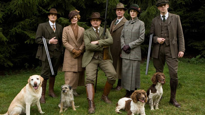OUTRAGE: Dogs No Longer Allowed on the Set of Downton Abbey