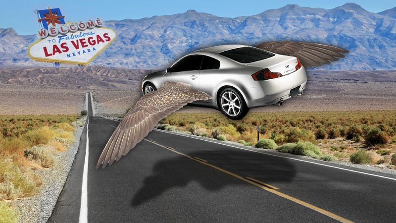 If You Borrow A Car For A Vegas Trip, Make Sure It's A Fast One