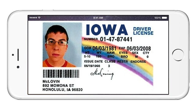Iowa Is Going To Let You Use a Smartphone As Your Driver's License