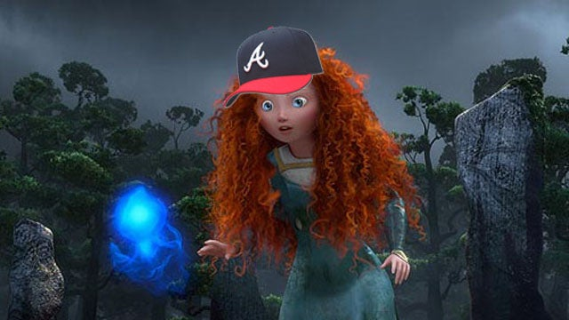 Atlanta Braves Concerned That Pixar's Brave Will Confuse Morons