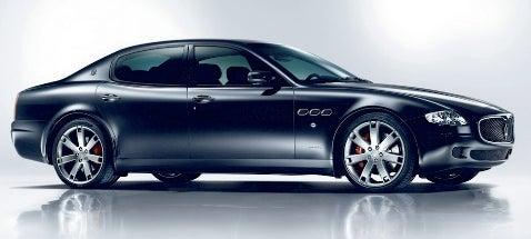 Maserati Quattoporte Sport GT S
