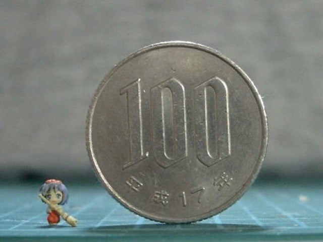 Some of the Smallest (and Most Amazing) Figures on Earth