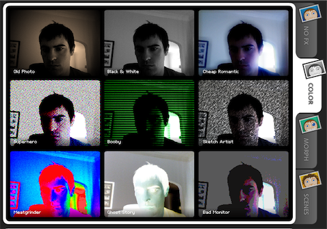Turn your webcam into a photo booth with Cameroid