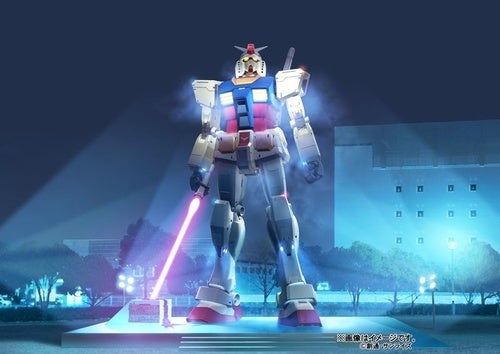 Life-Sized Gundam to Wield Giant Lightsaber