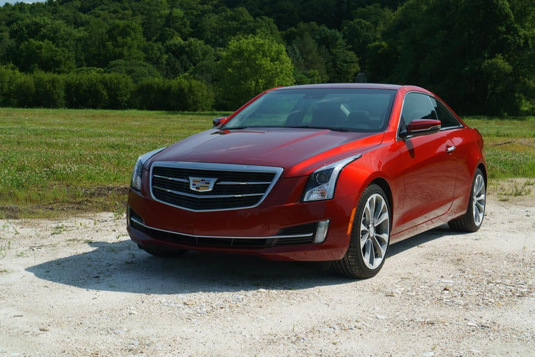 The ATS Coupe looks so good.