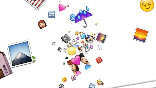 My God, It's Full Of Emoji