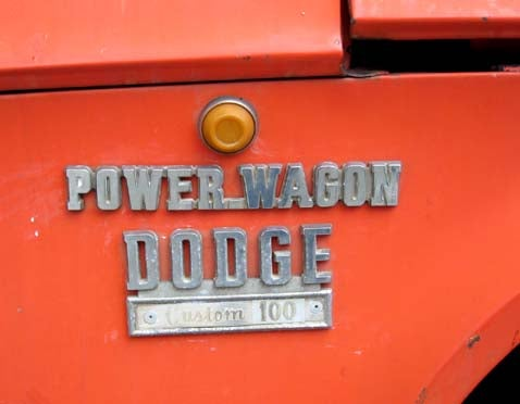 1970 Dodge Power Wagon