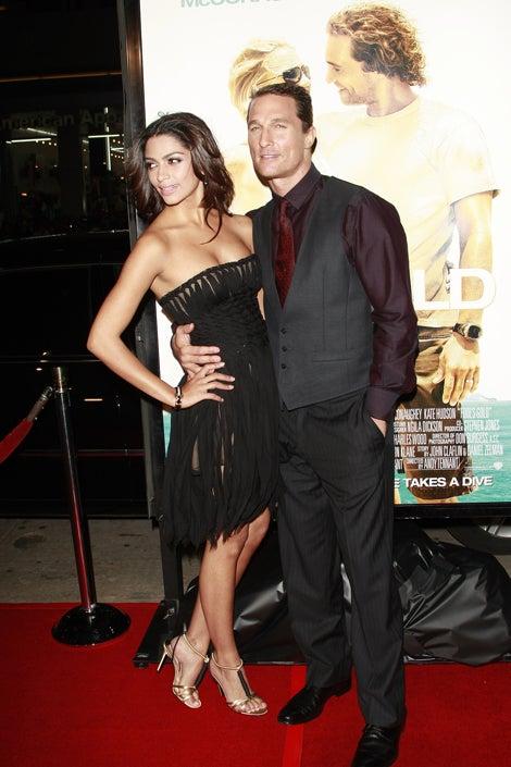 Matthew McConaughey's Baby Mama: Whatever Blows Up Your Skirt