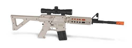 Realistic PS3 Assault Rifle Controller Helps Legitimize Your FPS Blood Lust