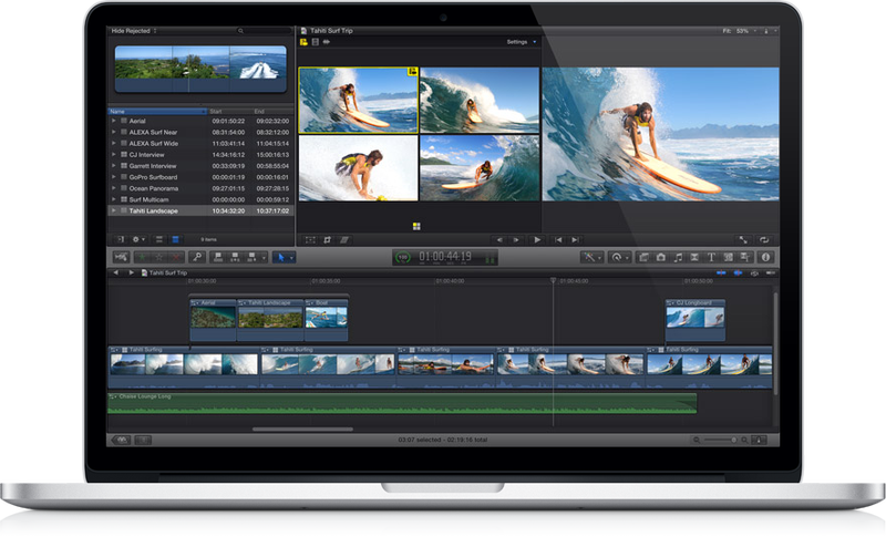 Final Cut Pro X Is Being Updated for Retina-Screen MacBook Pros