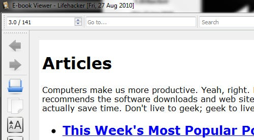 Get Lifehacker and Other Gawker Blogs in Your Ebook Reader